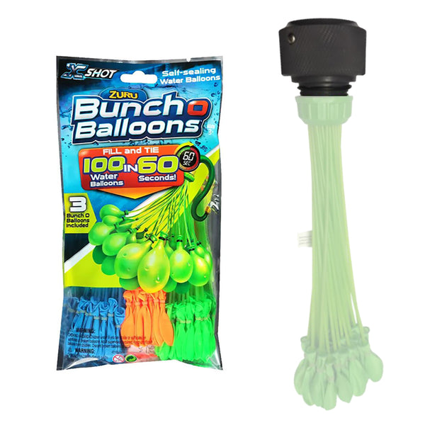 FATSAC Supa Pump GHT Balloon Adapter w-100-Pack Zuru Balloons [M1006]