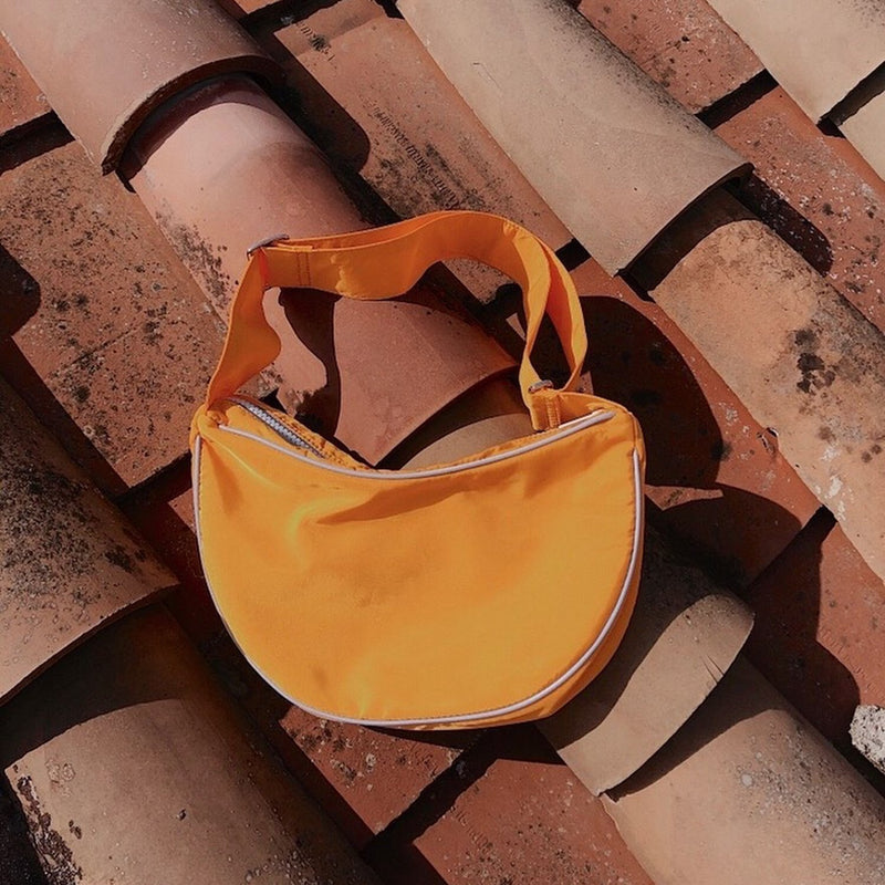 Nylon Hobo Shoulder Bag