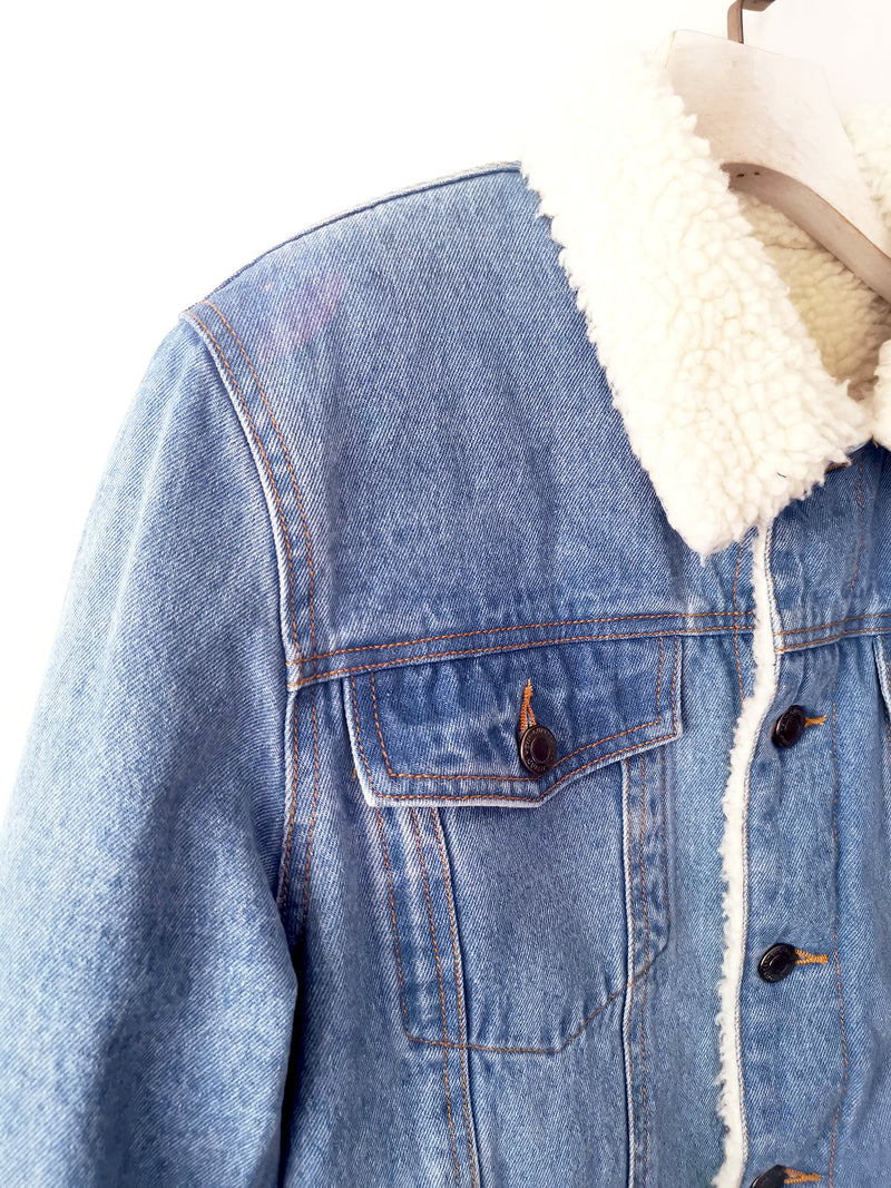Classic Denim Sherpa Jacket