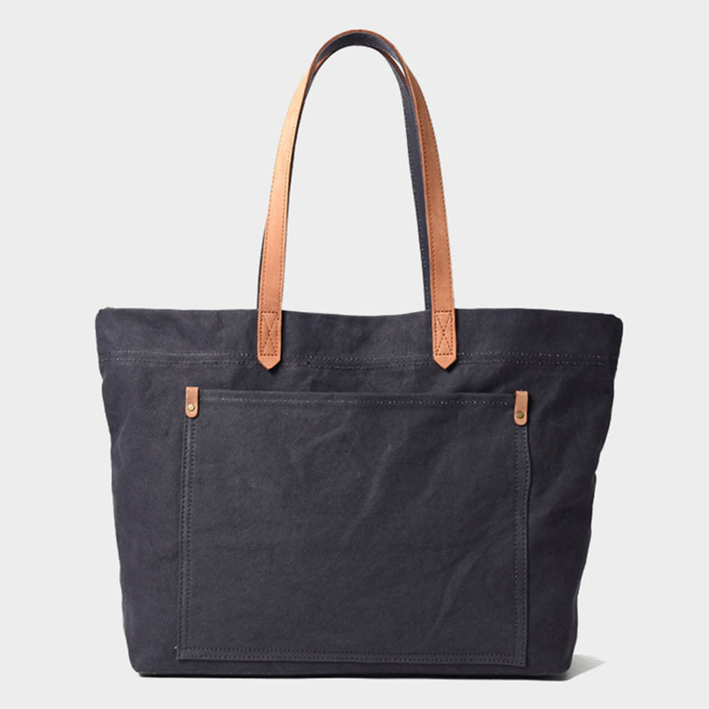 Canvas Tote Shopping Bag (L)