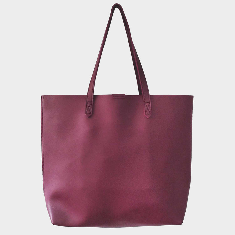 Oversized Leather Womens Tote Bag
