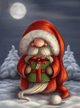 Diamond Painting Cute Santa - DashColor.com