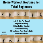 Home Workout Routines For Total Beginners - 3 Times a Week