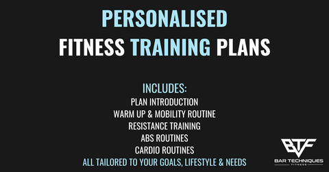Personalised Fitness Training Plan