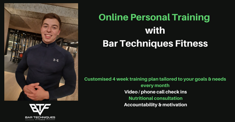 Online Personal Training With Bar Techniques Fitness