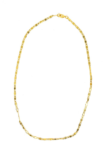 The Isabella delicate necklace - gold 24kt