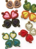 3D HEART - Beads luxury - colors inside - limited edition