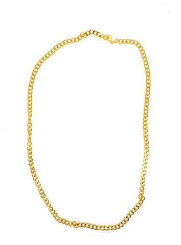 The Sophie Flat chain - gold 24kt