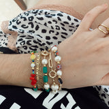 The party mix - bracelet - gold 24k