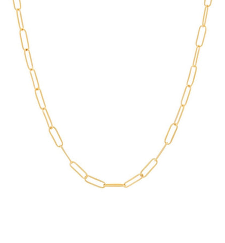 "The ""infinite links"" large - multi ways - necklace"