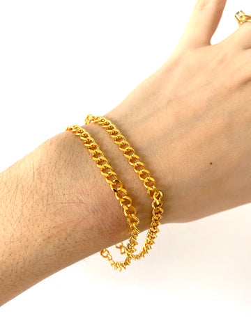"The ""Sophie"" bracelet - Gold 24KT or silver 925"