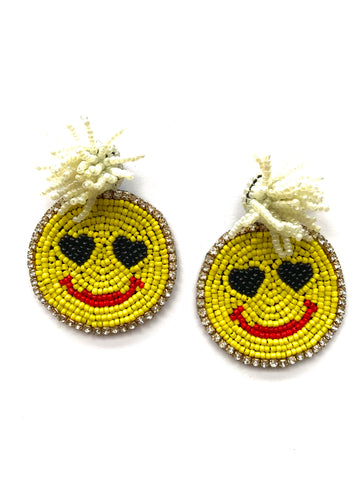 Happy face - beads luxury
