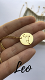 CONSTELLATIONS - Zodiac- Necklace 24k Gold