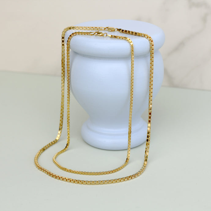 Gold Athena Chain Necklace
