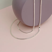 Load image into Gallery viewer, Silver Athena Chain Necklace