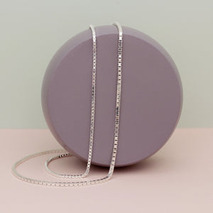 Silver Athena Chain Necklace