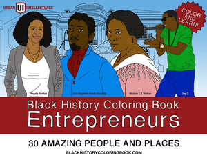 Black History Coloring Book: Entrepreneurs