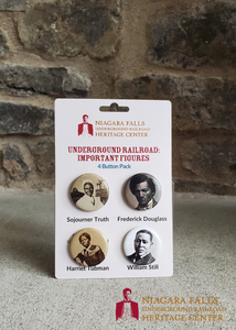 Underground Railroad Important Figures 4 Pin Pack