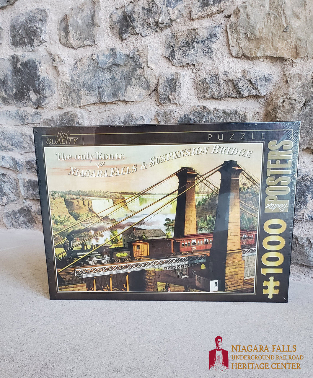Suspension Bridge Puzzle