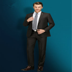 New Mens Slim Fit Elegant Wedding Business Formal Two Piece Suits