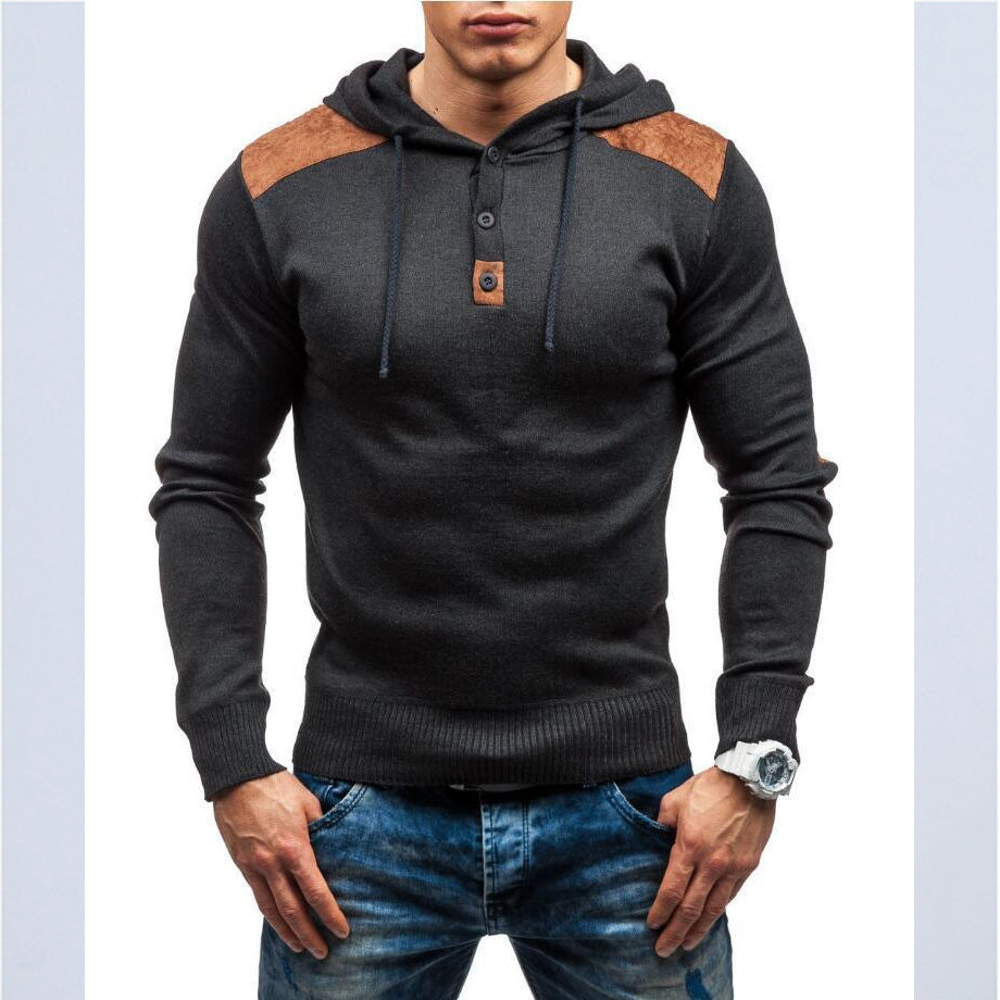 46e2a2bf3 ... New Men's Classic Fashion Hoodies Solid Color Casual Tracksuit  Sweatshirt ...