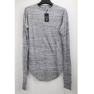 New Autumn Men Long Sleeve O-Neck Extend Loose Fit Casual T-Shirt