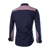 New Men Popular Formal Business Cotton Shirts Casual Slim Long Sleeve Dress Shirts