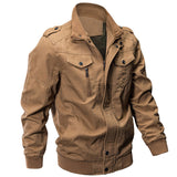 New Autumn Winter Men Military Pilot Bomber Tactical Casual Jacket Plus Size