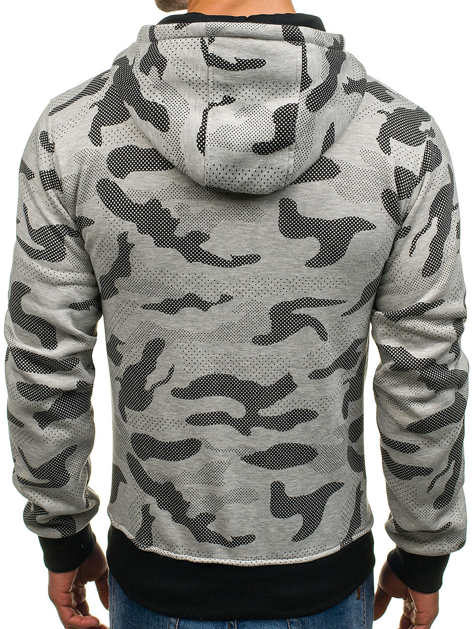 New Autumn Winter Mens Fashion Camouflage Sweatshirt Hip Hop Pullover Hoodies