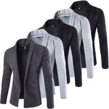 New Autumn Men Linen and Cotton Slim Fit Casual Sport Jacket