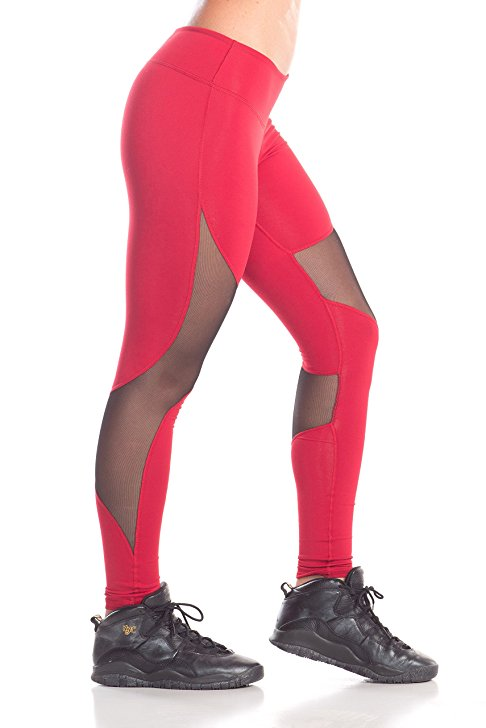 Red Rey Mesh Performance Legging