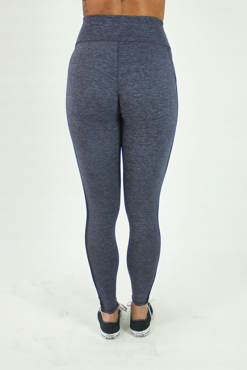 Lavender Grace Side Mesh Lifestyle Legging
