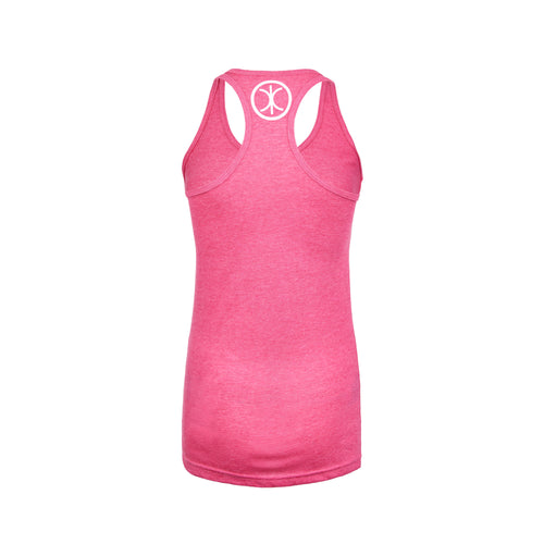 Slim Fit Pink Women's Racerback Tank