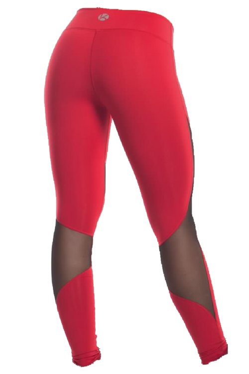 Red Ray Mesh Performance Legging