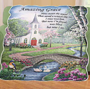 Amazing Grace Throw