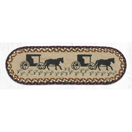 Amish Buggy Jute Runner