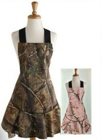 Realtree Camo Hostess Apron