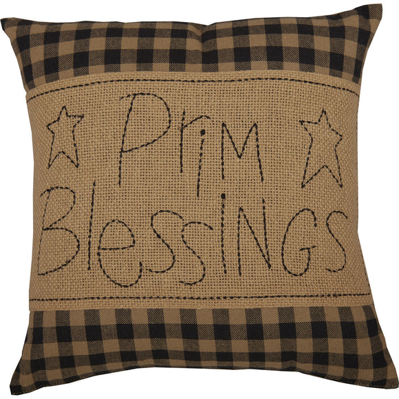 Black Check Prim Blessings 12