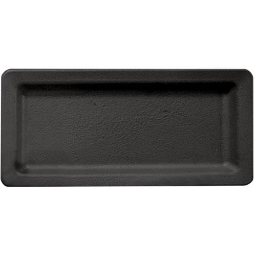 Black Wooden Rectangle Candle Tray