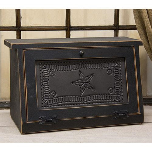 Wooden Star Bread Box
