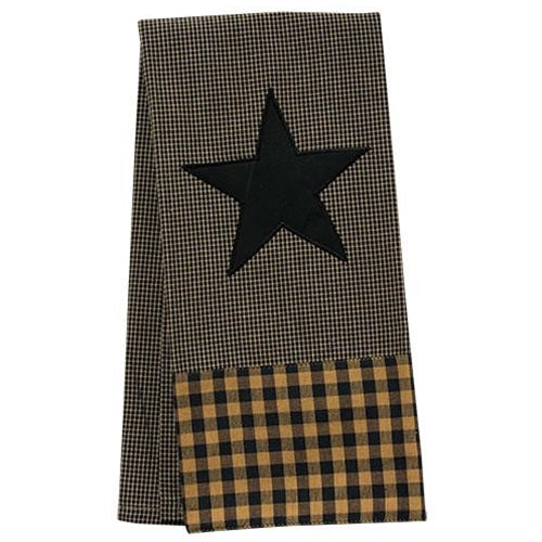 Black Star Dish Towel 18