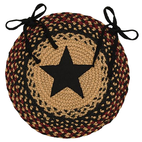 Blackberry Star Chair Pad