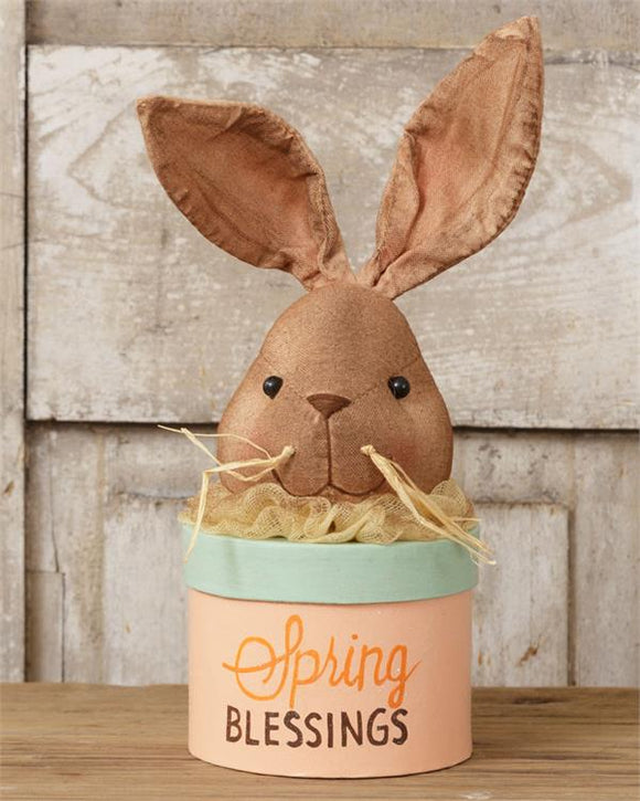 Bunny Head Spring Blessings Box
