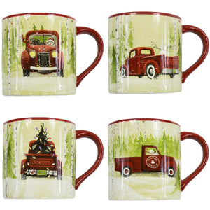 """Christmas Vacation"" Mug Set of 4 by Park Designs"
