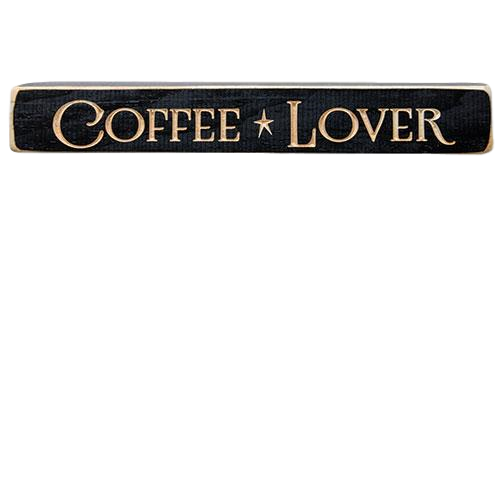 Coffee Lover Engraved 12