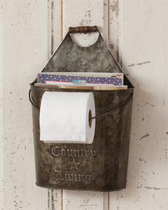 Country Living Toilet Paper/Magazine Holder