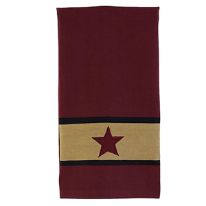Cranberry Barn Star Towel