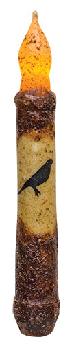 Black Crow Timer Taper Candle