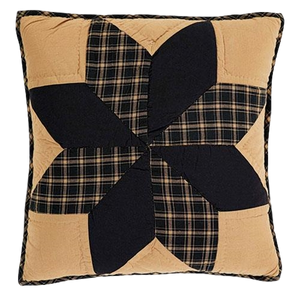 "Dakota Star Quilted 16"" Pillow"