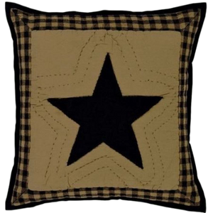 "Delaware Star 16"" Throw Pillow"